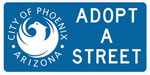 Adopt a street - city of Phoenix, AZ logo