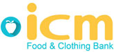 ICM Food & Clothing Bank logo