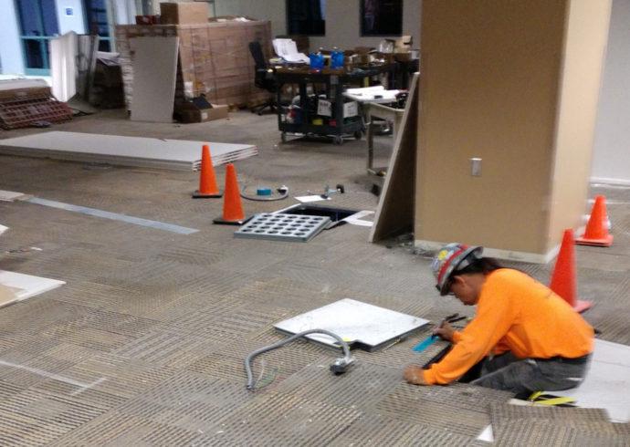 job site under construciton