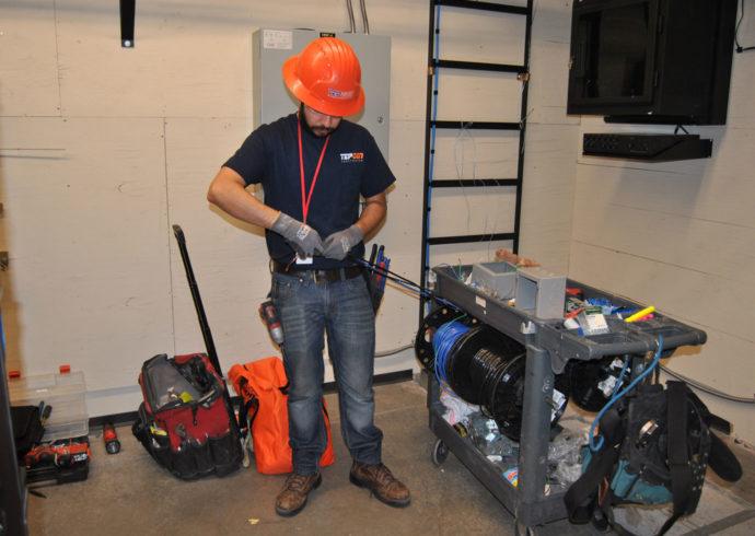 TEPCON Construction electrician