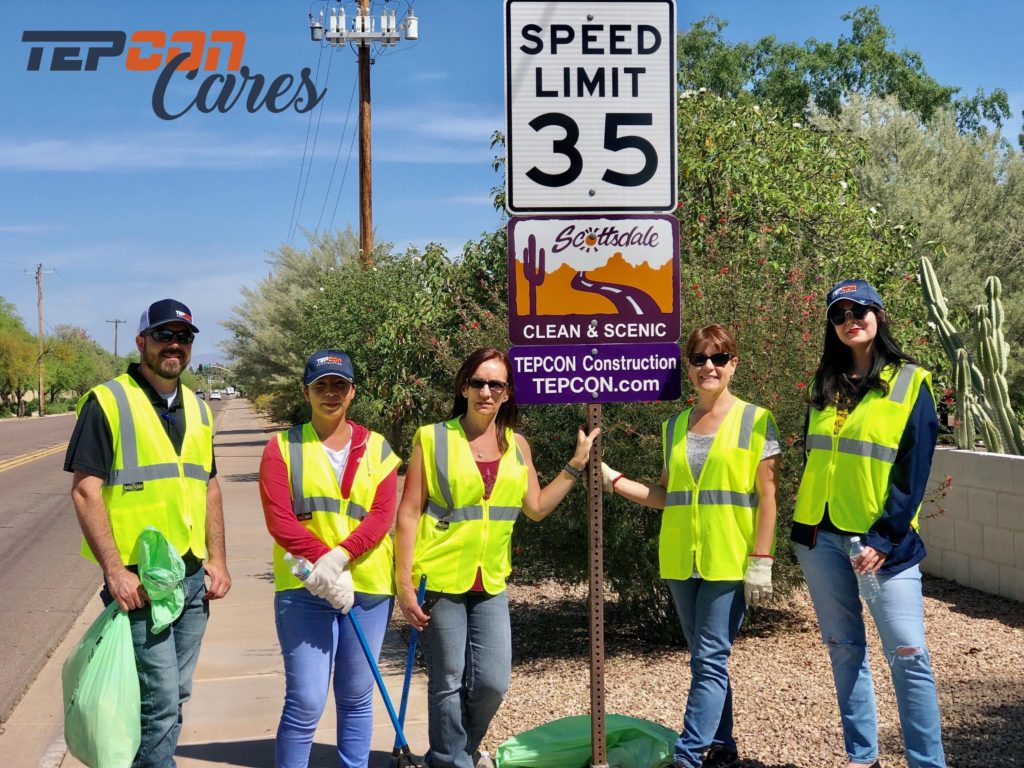 TEPCON Cares and Keep Scottsdale Beautiful